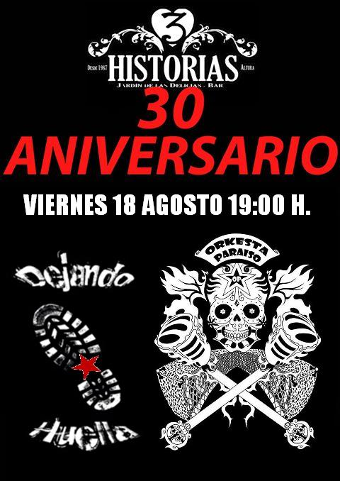 30 aniversario 3H